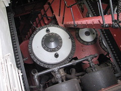 Looking down into engine room of the USS Olympia (FranMoff) Tags: boat ship navy olympia cruiser uss c6 engineroom ca15 protectedcruiser cl15 ix40