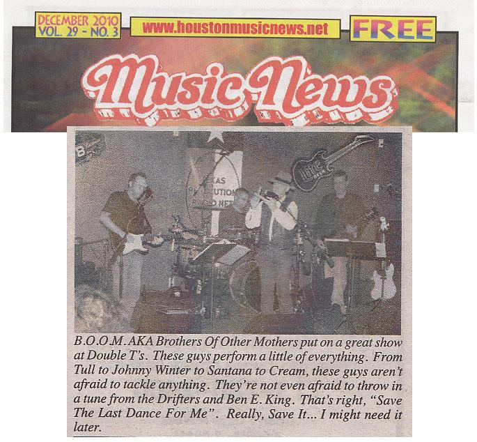 BOOM - Music News 12/2010