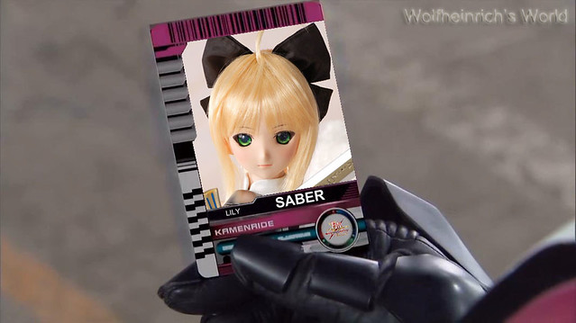 Dollfie Dream DD セイバー・リリィ Saber Lily Card