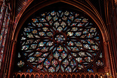 Rose window from Sainte-Chapelle Paris-3 (christian_jacquet) Tags: windows paris france church louis flickr king catholic religion gothic 9 stainedglass saintlouis blanche gothique chapelle saintechapelle roi 1242 architecte vitraux moyenage castille catholique architec 1248 pierredemontreuil royaute sal2470z middleadge