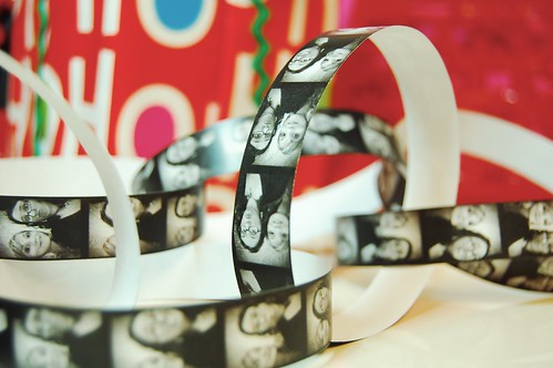 photo booth paper chain