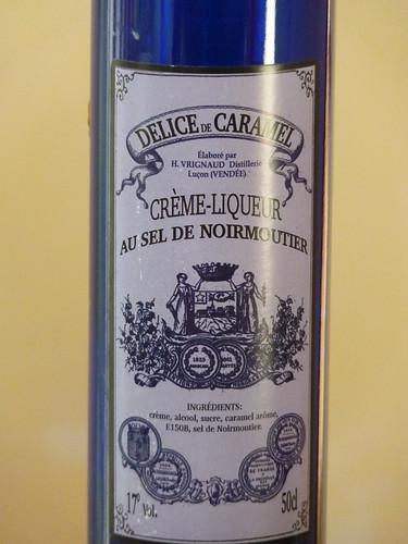 crème-liqueur au sel de noirmoutier