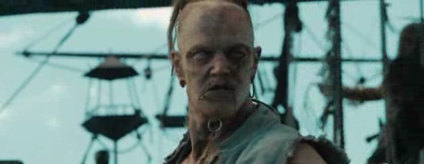 zombies on Pirates of the Caribbean: On Stranger Tides
