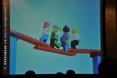 Lego Bridges at FIKR9 (Qatar Foundation International) Tags: dubai florida disneyland think science disneyworld conference service qatar soss fakker cultureexchange youthambassadors qfi summerofscienceandservice workshopshandson