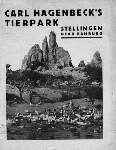 Carl Hagenbeck's Tierpark - guidebook