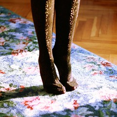 party tights (*Nishe) Tags: party glitter toes tights sparkle tippy