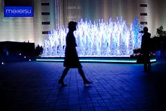 Christams lights (Dale. Cunningham) Tags: silhouette japan canon lowlight christmaslights nagoya lightroom 50d ジャパン