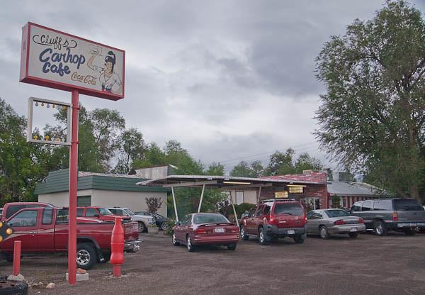 Cluff's Carhop Cafe