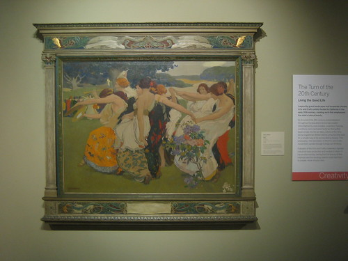 Youth, c. 1917, Oil on Canvas, Arthur F. Matthews, Oakland Museum of California _ 9578