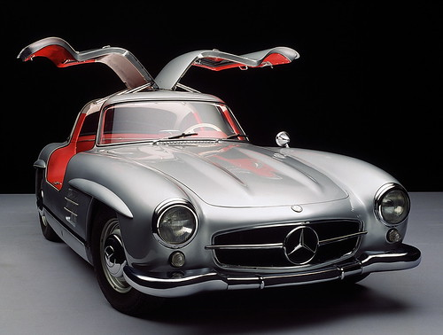1955 U2013 1963 Mercedes Benz 300 SL U201cGullwingu201d: The Fastest Production Car Of  Its Day, The 300 SL Evolved Out Of The 1952 Mercedes Sports Racing Car.