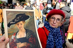 Rubens on the Street (Costas Lycavittos) Tags: madrid spain bellasartes espana rubens pintura rastro nikond300 costaslycavittos flashonface nikkor20mmaismanual rubensonthestreet