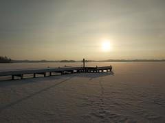Steiger, zonnetje, ijs en sneeuw @ Paterswoldse meer