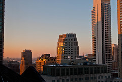 Early Evening Light (Christopher.F Photography) Tags: light sunset chicago 35mm buildings hotel nikon shadows view cityscapes d3000