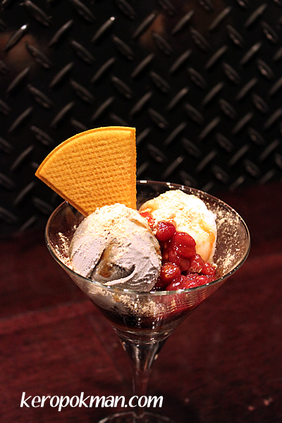 Black Sesame and Mochi Parfait