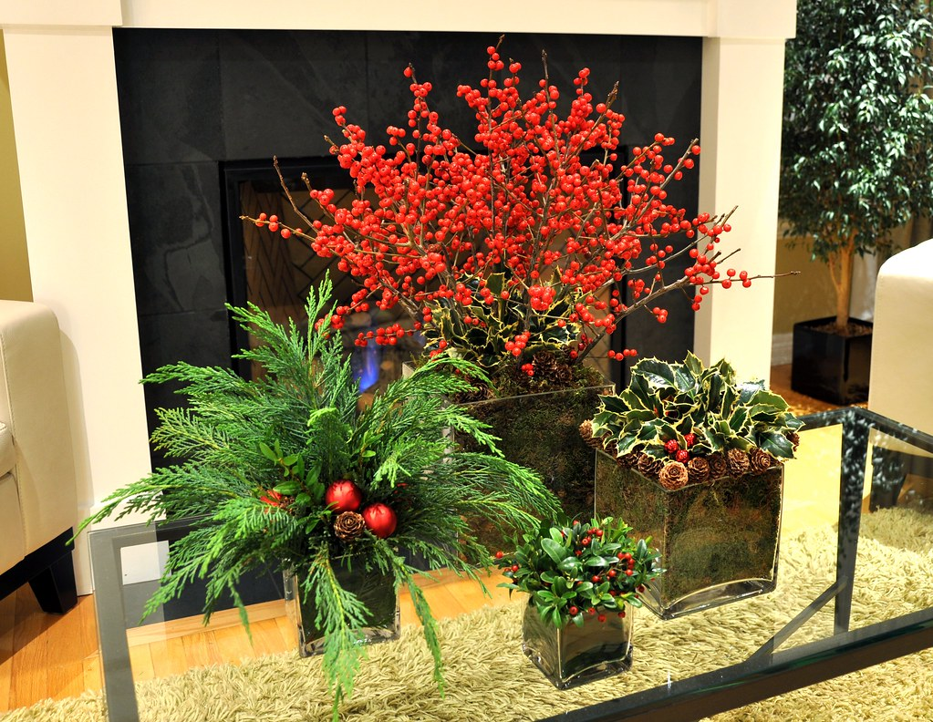 Four Christmas Arrangements