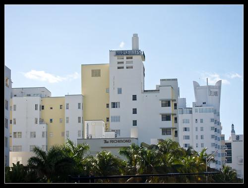 Art Decó en Collins Ave