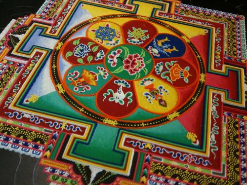 Tibetan Monks bring The Sand Mandala to Vancouver, WA