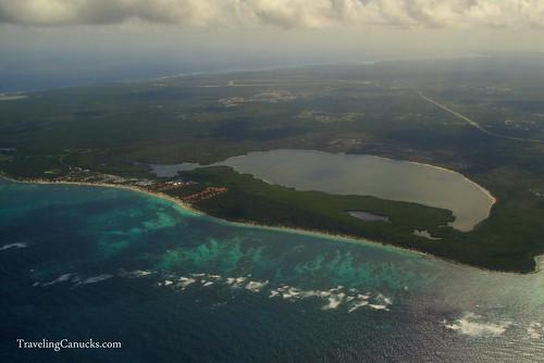 Aerial Views of Punta Cana, Dominican Republic