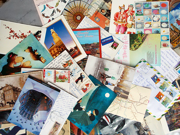 Картинки как, открытки отправлять по всему миру