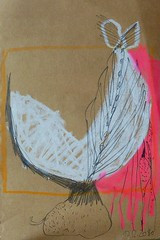Dec 10, 2010 (wunderwesen) Tags: plant art leave yellow pencil paper artwork drawing kunst cologne kln line growing blatt zeichnung wachstum knolle germanart wunderwesen karenbettytobias