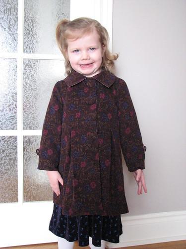 Ottobre 1/2010 Corduroy Coat