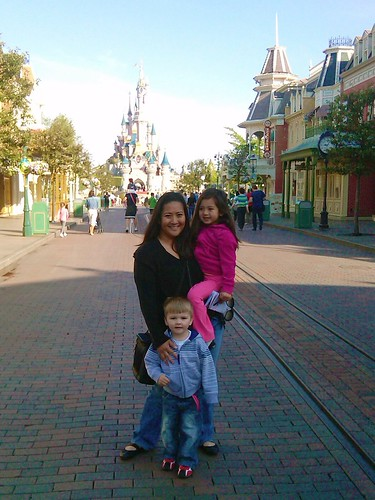 Disneyland Paris with Princess D & Terror