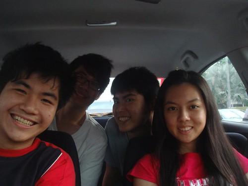 Chin Ming,Calvin,Chern Jung and Chee Li Kee