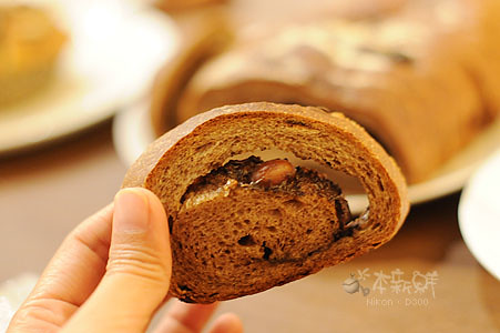 UCC咖啡核果麵包
