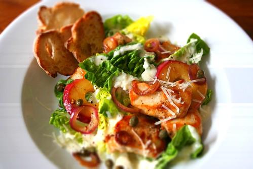 Cesars salad / tiltshiftmaker