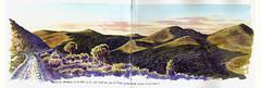 Sentiero della Piana (lorenzo dotti) Tags: parco natura sketchbook lorenzo disegno dotti isola toscano capraia acquerello arcipelago naturalistica disegnoenpleinair