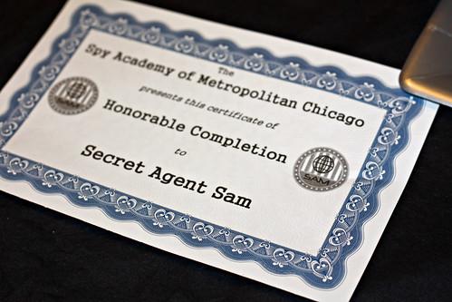 Spy certificate