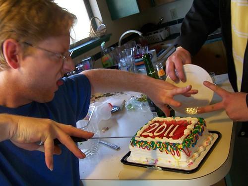 jan 009 My favorite, 2011 cake!