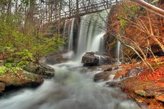 Indian Falls (the waterfallhunter) Tags: longexposure waterfall flood fort alabama desotostatepark lookoutmountain hdr payne laurelcreek dekalbcounty indianfalls fortpaynealabama