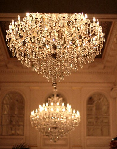 2 of 4 hotel monteleone lobby chandeliers