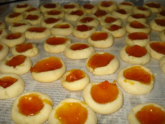 Apricot thumbprints