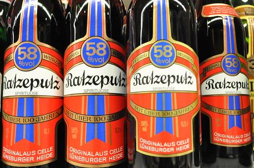German hard liquor - ratzeputz