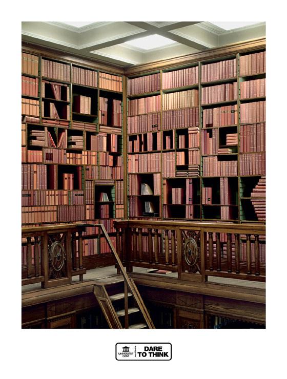 palabras en libreros