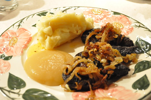 Deer Liver, Onions and Mash Recipe