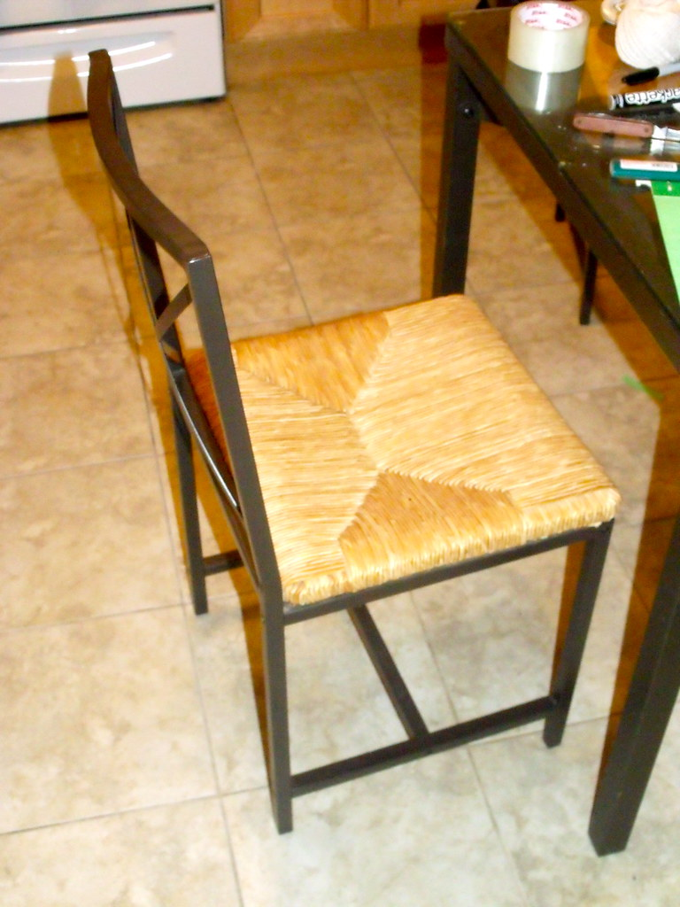 1 OF 6 KITCHEN CHAIRS