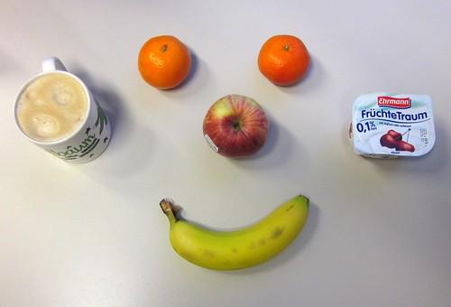 Apfel, Clementinen, Banane & Früchtetraum