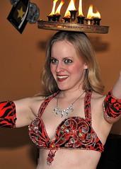 Cande Tray on head (MISS KISS Maddie) Tags: atlanta georgia bellydancer professional bellydance bellygram firebellydance maddiebellydancer wwwmaddiebellydancercom