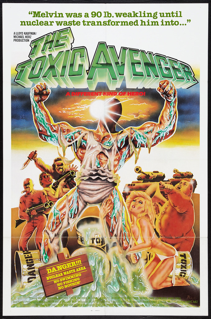 The Toxic Avenger (Troma, 1985)
