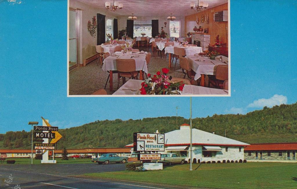 Ponda Rosa Motel - Mansfield, Pennsylvania