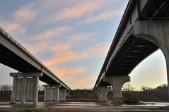 Westgate Bridge (thefisch1) Tags: bridge water river interesting support nikon calendar cement bridges double kansas nikkor topeka flinthills kansasriver oogle girding