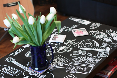 DIY Doodled Table