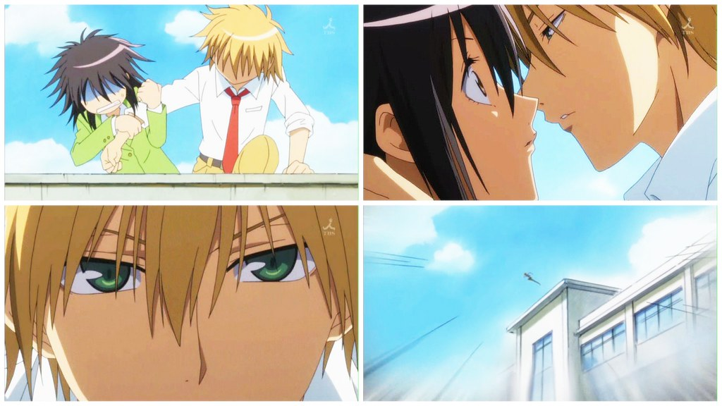 Maid Sama-Lead Up to the Kiss