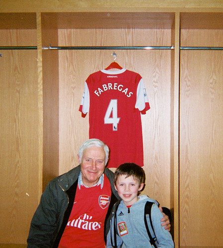 Harvey, Granddad and Fabregas