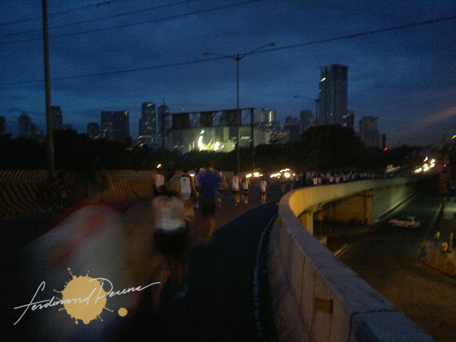 PSE Bull Run 2011 at Kalayaan Flyover to Buendia