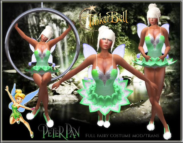 Tinkerbell (adult costume)
