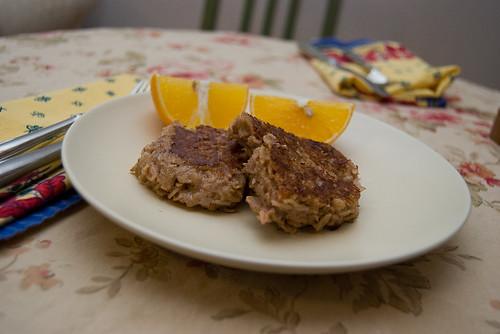 Fried Oatmeal Squares